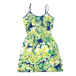Collective Concepts Dress Green Floral Stitch Fix